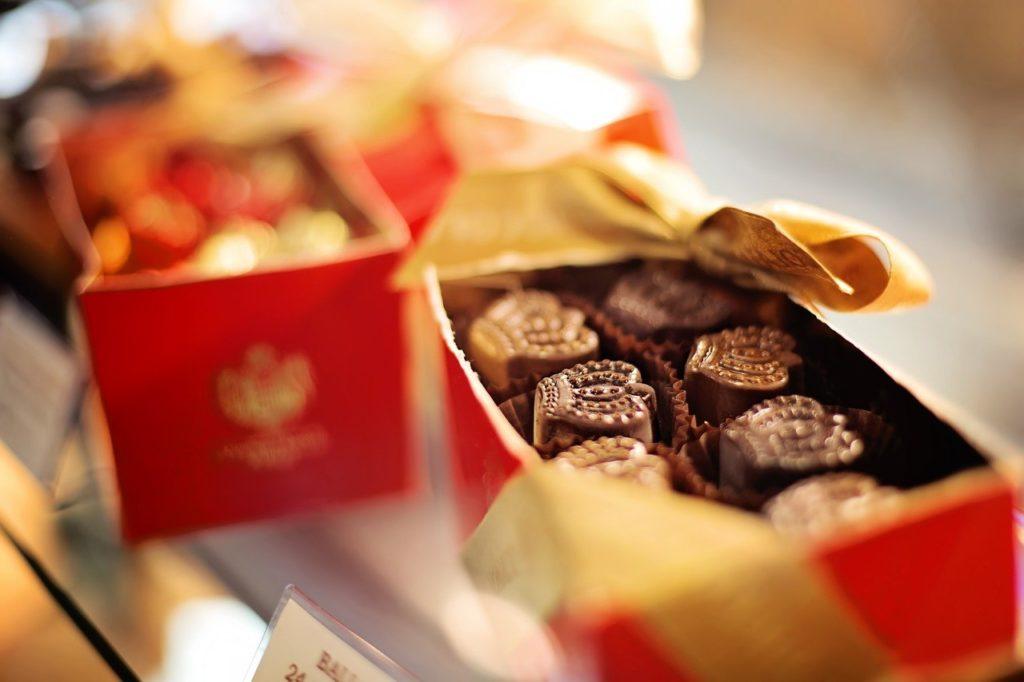 太るチョコレート